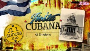 Fiesta Cubana (DJ Emeterio) @ La Fiesta
