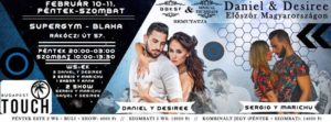 Daniel & Desiree Magyarországon // 02.10-11.// Workshopok + buli @ SuperGym Blaha