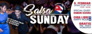 SALSA Sunday - Cuban Edition @ Opera Club