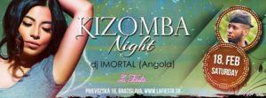 Kizomba NIGHT (DJ Imortal) & demo class & styling & Oldies STAGE @ La Fiesta