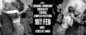 WIEN Kizomba Workshop W David Flor & Lenka @ Ayres De Tango