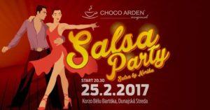 Salsa party @ Choco Arden Dunajská Streda