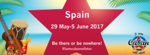 I am Cuban All Star Official 29 May-05 June, 2017 Spain @ Hotel Gandia Palace