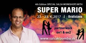 4th Special SALSA workshops with Super Mario, Bratislava @ UDT Univerzálny DOM Tanca