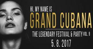 Grand Cubana Festival & Party - 5. 8. 2017 @ Taneční studio Stolárna