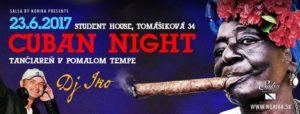 Cuban Night & Tančiareň @ Salsa by Norika