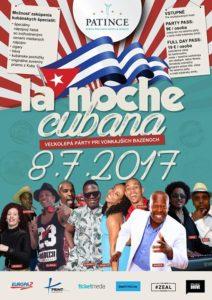 La NOCHE Cubana - Kubánska noc @ Wellness Hotel Patince