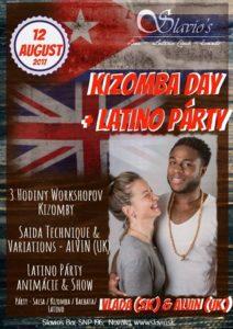 Kizomba Day Workshop s večernou party @ Slavio's