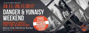 Danger & Yunaisy Weekend - first time in Bratislava! @ Salsa by Norika