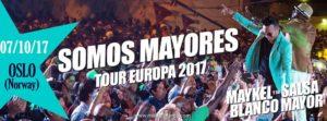 Concert: Maykel Blanco Y Su Salsa Mayor, OSLO @ Riksscenen