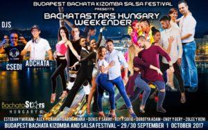 Salsa, bachata és kizomba buli DJ Csedivel- BachataStars Hungary @ B57