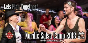 Join Nordic Salsa Camp 2018 - Lets Play Together! @ Brandbjerg Højskole