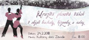 Mrazivá plesová vášeň v objatí bachaty, kizomby a salsy @ Kultúrny dom Závodie Žilina