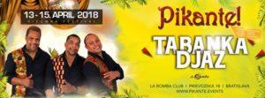 Pikante! Concert & Party (by Tabanka Djaz) @ La Bomba