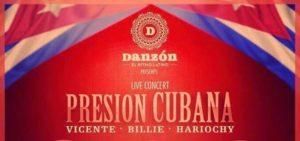Salsa Live Concert & Party - Presion Cubana & Billie @ Danzón