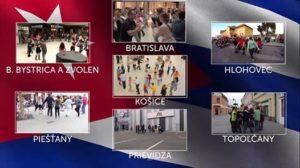 5. Slovenský Salsa Rueda FlashMob 2018 @ Slovensko