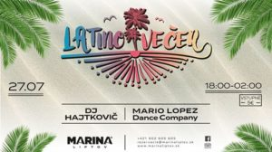 Latino Full Moon Party @ Marina Liptov
