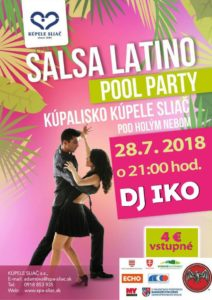 Salsa-Latino pool party