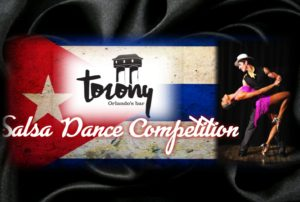 SALSA DANCE COMPETITION @ Torony. Orlando's bar
