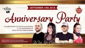 Výročná párty Salsa by Norika @ Salsa by Norika