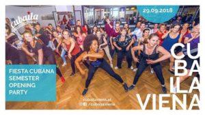 ★ Fiesta Cubana ★ cubaila viena Season Opening! @ Boogie-Lounge