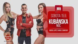 ★ Kubánska Noc ★ 15.9. @ Club 333