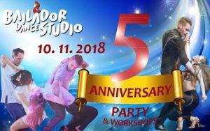 5th anniversary party @ Tanečné štúdio Bailador