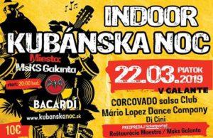 Kubánska Noc Indoor @ Msks Galanta