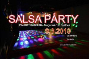 Salsa párty v Magure /9.3.2019 @ Pivaren Magura-Sasova