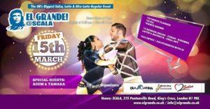 EL GRANDE- Friday 15 March, 4 rooms,10 dis,10 teachers 9pm - 5am @ Scala