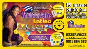 Kubánske Latino s Janely Fernández Diaz a DJ Niurka Pita Alvelo @ AMFIK CAFE