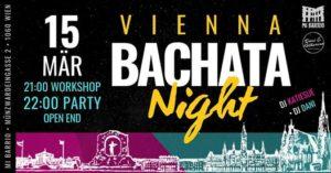 Vienna Bachata Night • 15.3. @ Mi Barrio