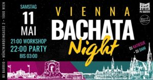 Vienna Bachata Night • Samstag 11.5. @ Mi Barrio