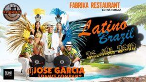 Latino Brazil☆Dj JOSE GARCIA&Dance Company☆ @ Fabrika restaurant Poprad
