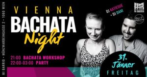 Vienna Bachata Night • Freitag 31.1. @ Mi Barrio