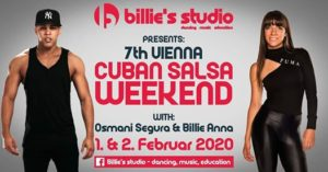 7th Vienna Cuban Salsa Weekend - Osmani Segura & Billie Anna