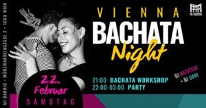 Vienna Bachata Night • Samstag 22.2. @ Mi Barrio