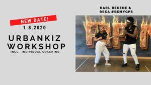 Urbankiz Workshop & Individual Coaching @ Dancehaus by Interklub