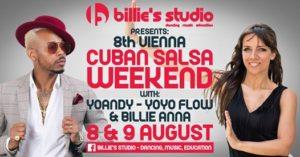 8th Vienna Cuban Salsa Weekend - Yoandy / Yoyo Flow&Billie Anna @ Andaz Vienna Am Belvedere