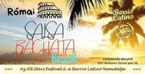 Salsa-Bachata Beach Party a Római parton @ Csónakház Mulató