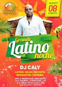★★★ GRANDE LATINO NOCHE (DJ CALY) ★★★ @ MANGO Music Club & Bar