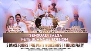 Sensual Salsa fete blanche / white party edition @ Schwedenbrücke