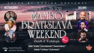 Mambo Bratislava Weekend 2021 CANCELLED @ Salsa by Norika