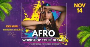 Afro Workshop Coupé Décalé by Denisa Mzungu @ ByRamos Studio